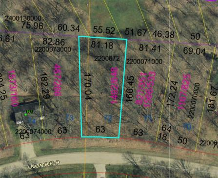 Lot 72 Apple Valley Howard Oh 43028 Us Apple Valley Lake Land For