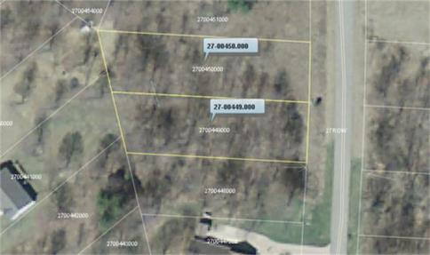 Lot 449 and 450 Country Club Subdivision Howard Ohio 43028 at The Apple Valley Lake