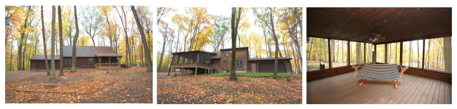 Apple Valley Lake Log Cabin Home For Sale by Sam Miller
