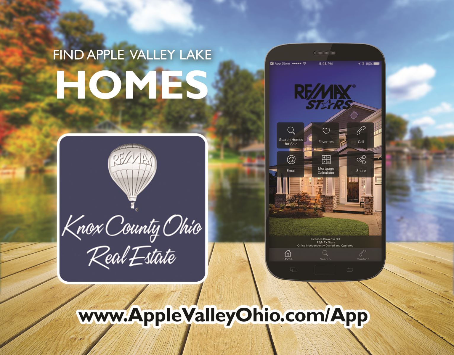 Apple Valley Lake Real Estate App