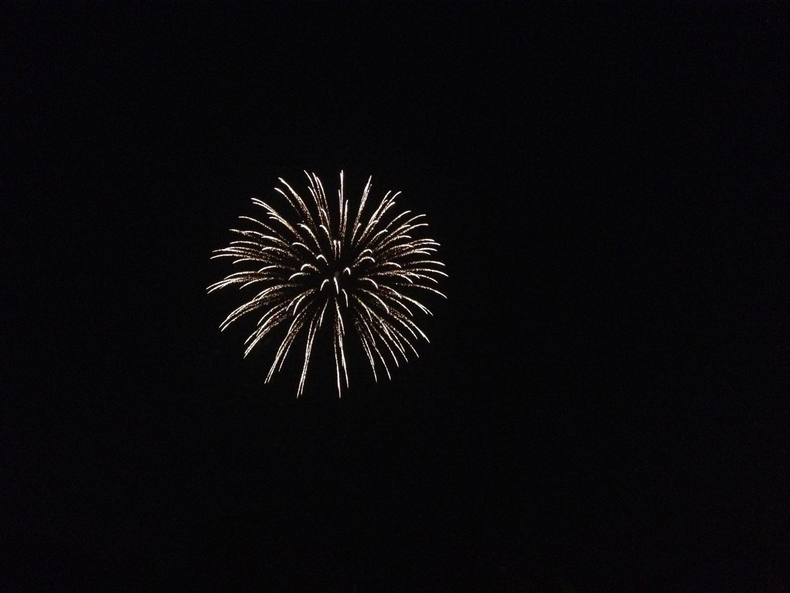 Apple Valley Lake Fireworks Photo by Apple Valley Lake REALTOR Sam Miller