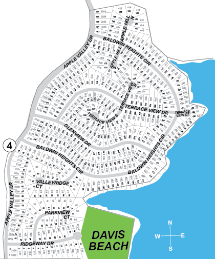 Baldwin Heights Subdivision Maps