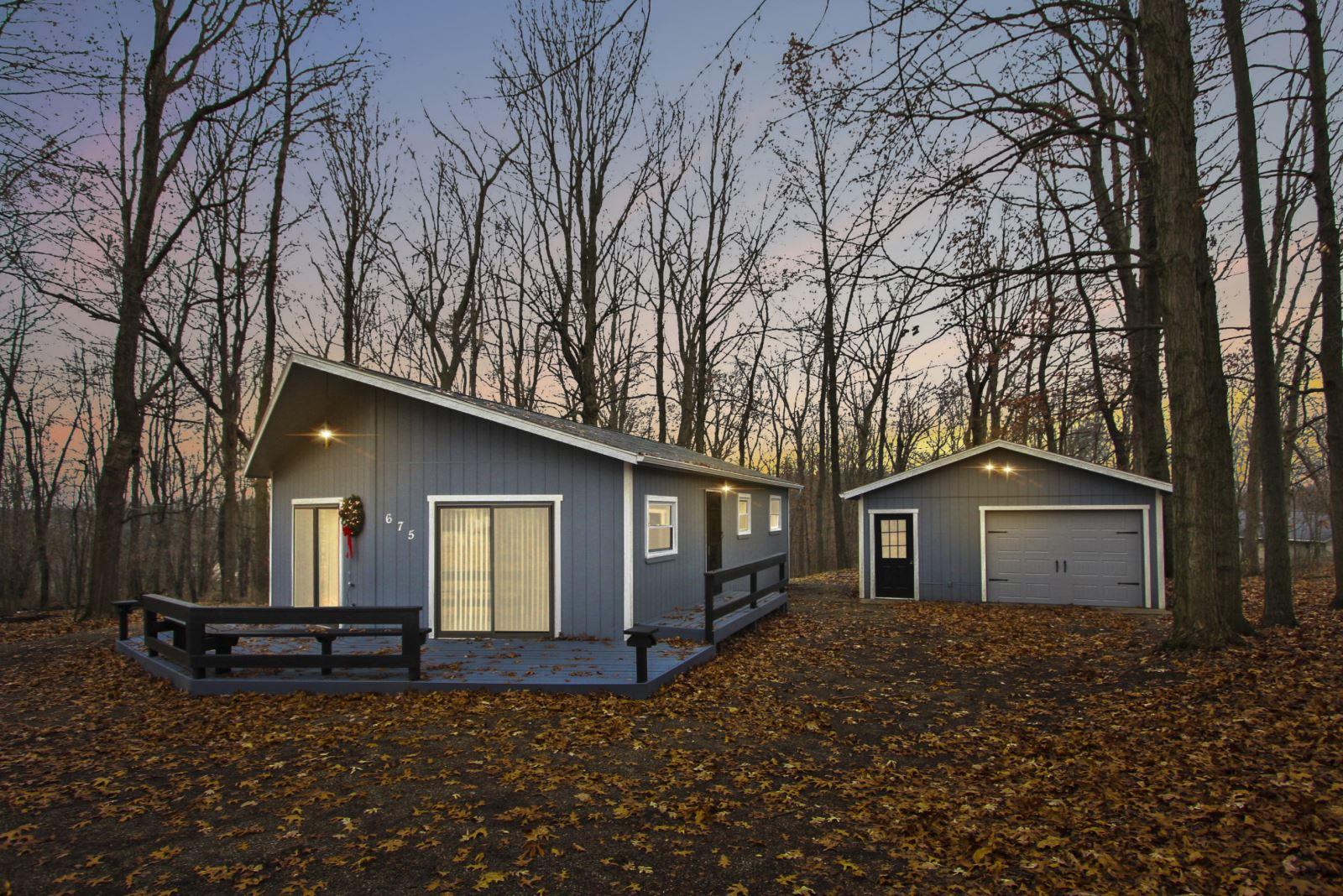 Beautiful Cottage In The Woods For Sale At Apple Valley Lake
