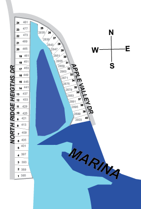 Harbor View Map