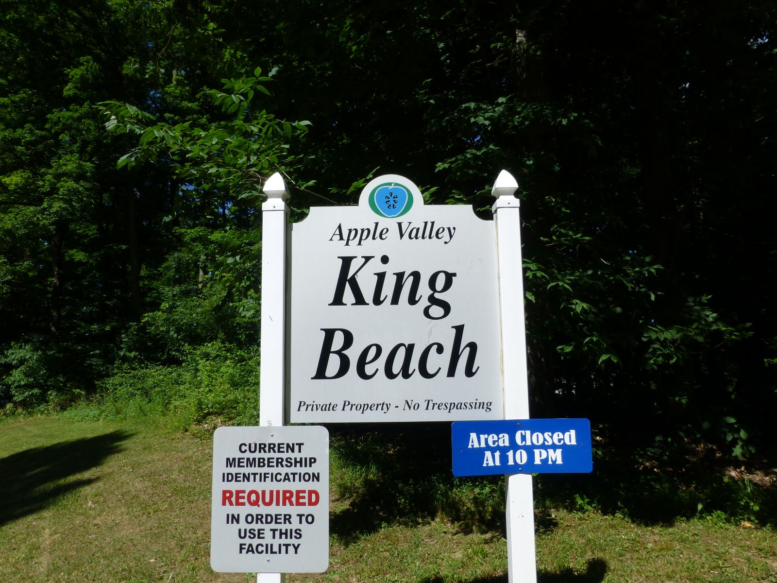 King Beach at Apple Valley Lake