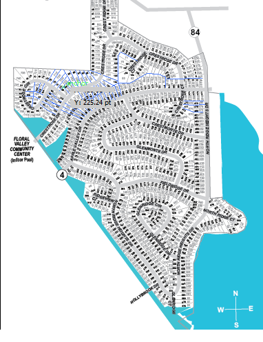North Ridge Subdivision Map
