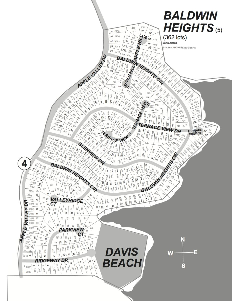 Baldwin Heights Subdivision